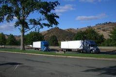 俄勒冈终止卡车 图库摄影