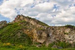 俄国人高加索绿色山 免版税库存照片