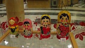 俄国传统纪念品 免版税库存图片