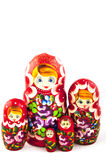 俄国传统玩具 免版税库存照片