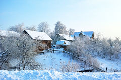 俄国传统建筑学 免版税库存照片
