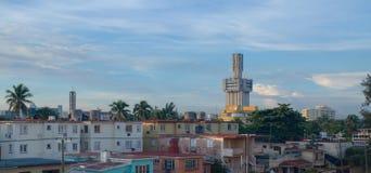 俄国使馆在哈瓦那 库存照片