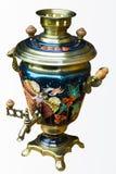 俄国俄国式茶炊 库存照片