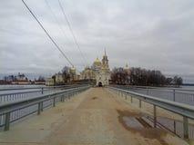 俄国修道院 免版税库存图片