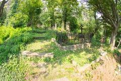 俄国公墓在希普卡 库存图片