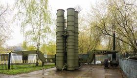 俄国军用火箭发射器 图库摄影