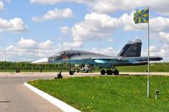 俄国军用飞机 库存图片