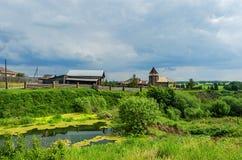 俄国农村横向 免版税库存照片