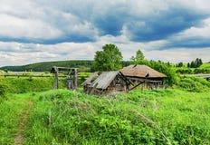俄国农村横向 免版税库存图片