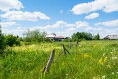 俄国农村横向 库存照片