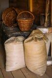 俄国农民生活的元素16-19 图库摄影