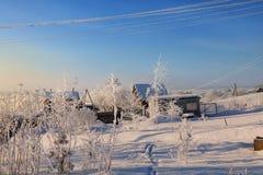 俄国冬天 免版税库存照片