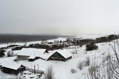 俄国冬天 免版税图库摄影