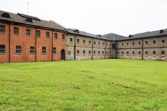 俄国和日本监狱在大连 库存图片