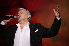 俄国和苏联音乐,流行音乐神象,尊守的人,百万富翁,作者,歌手,作曲家维亚切斯拉夫多勃雷宁星  库存照片