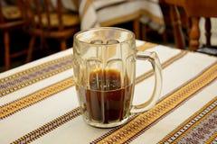 俄国啤酒杯子 库存图片