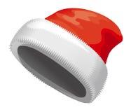 俄国圣诞节字符Ded Moroz帽子  免版税库存图片