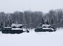 俄国坦克 免版税图库摄影