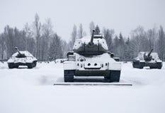俄国坦克 库存图片