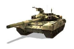 俄国坦克T-90 向量例证