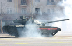 俄国坦克T-14 库存图片