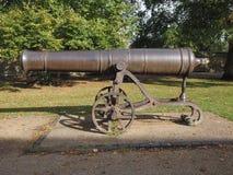 俄国大炮在伊利 库存图片