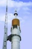 俄国太空飞船 免版税库存照片