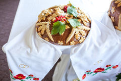 俄国婚宴喜饼 图库摄影