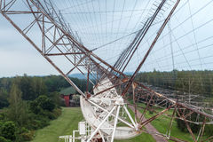 俄国学习脉冲星的天线无线电望远镜 库存图片