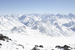 俄国山, Elbrus 库存照片