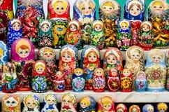 俄国嵌套玩偶 免版税库存照片