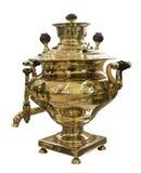 俄国式茶炊, 19世纪 图库摄影