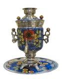 俄国式茶炊, 19世纪 免版税库存图片