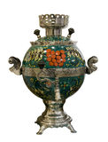 俄国式茶炊, 19世纪 库存照片