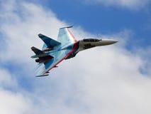 俄国战斗机 免版税库存图片
