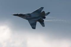 俄国战斗机MIG 29 图库摄影