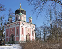 俄国教会,波茨坦,德国 免版税图库摄影