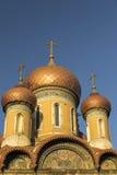 俄国教会 免版税库存图片