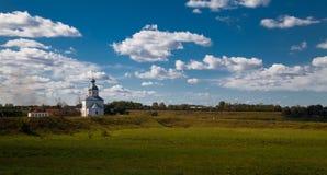 俄国教会 库存照片
