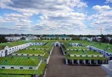 俄国旅行 Kostroma市在屋顶的上面viev 库存图片