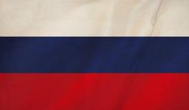 俄国旗子背景 库存例证