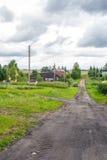 俄国村庄 免版税库存图片