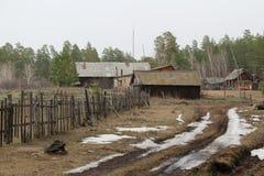 俄国村庄 库存照片