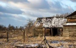 俄国村庄Paltsevo 免版税图库摄影