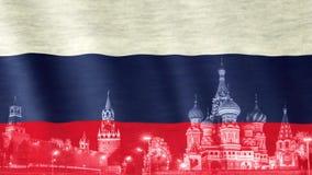 俄国标志 股票视频