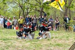 俄国步兵 免版税库存照片