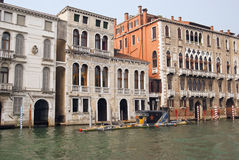 俄国水下威尼斯 免版税库存图片