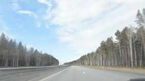 俄国汽车路 股票视频