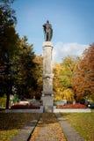 俄国沙皇时代的太子Kestutis的纪念碑 图库摄影