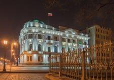 俄国沙皇时代的太子尼古拉Nikolaevich宫殿  免版税库存图片